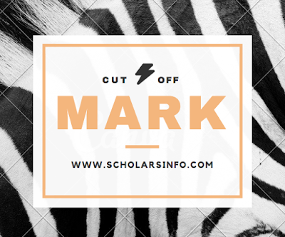 Caleb University Cut Off Mark