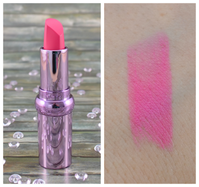P2 secret splendor LE marvelous illusion lipstick 010 posh pink Swatch
