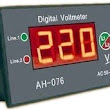Working Principle and block diagram of Digital Voltmeters(DVM's) and its types