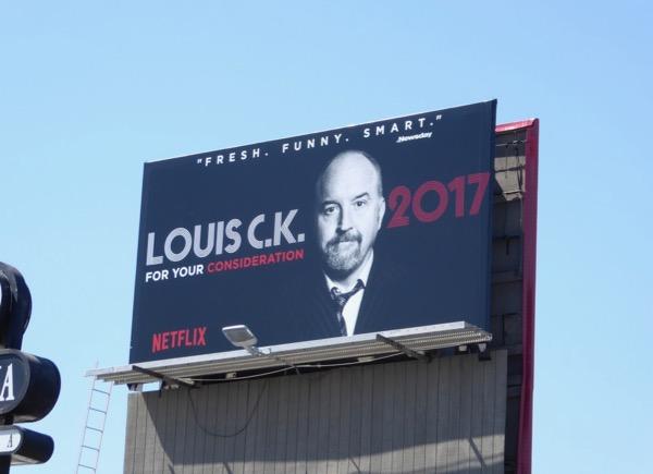 Louis CK 2017 Netflix Emmy FYC billboard