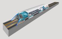 φουτουριστικό σχέδιο Hyperloop