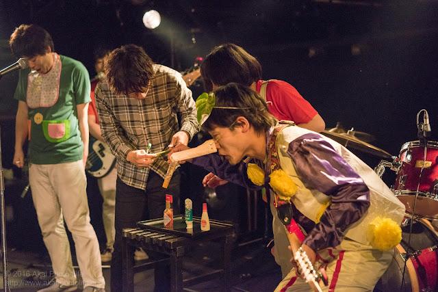 シルエレゆき birthday 企画ライブのおかさんといっしょのコピーバンドのはみがきじょうずかなの写真