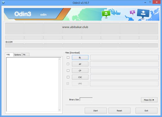 Download Odin Dan Cara Flash Samsung Galaxy