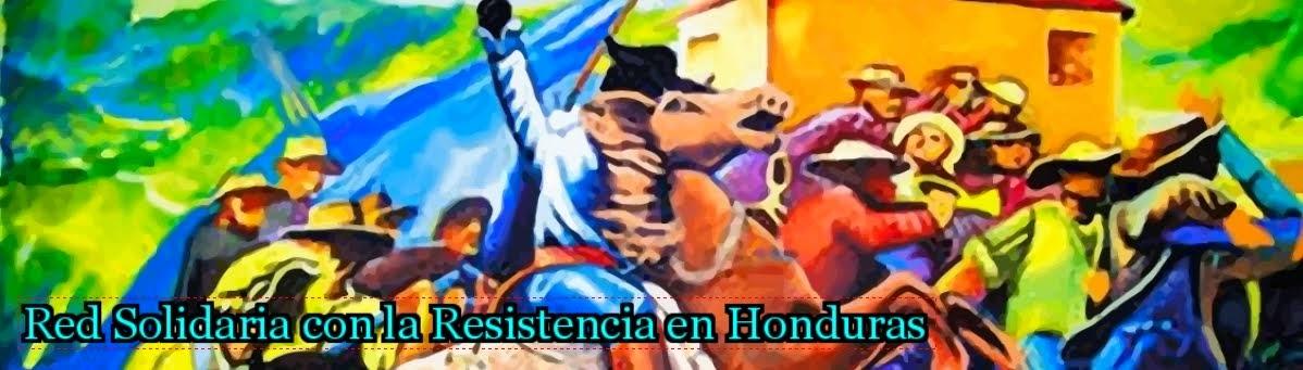 Red Solidaria con la Resistencia en Honduras