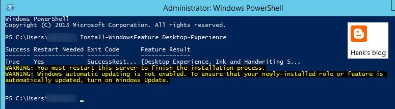 Henk's blog: Enable Adobe Flash Player on Windows Server 2012 R2