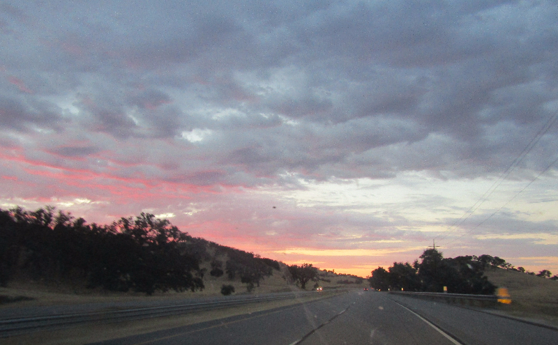 North Up the Cuesta Grade at Sundown: Photos