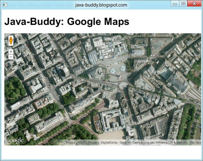 Embed Google Maps in JavaFX WebView