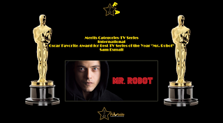 oscar favorite best tv series of the year international award mr robot