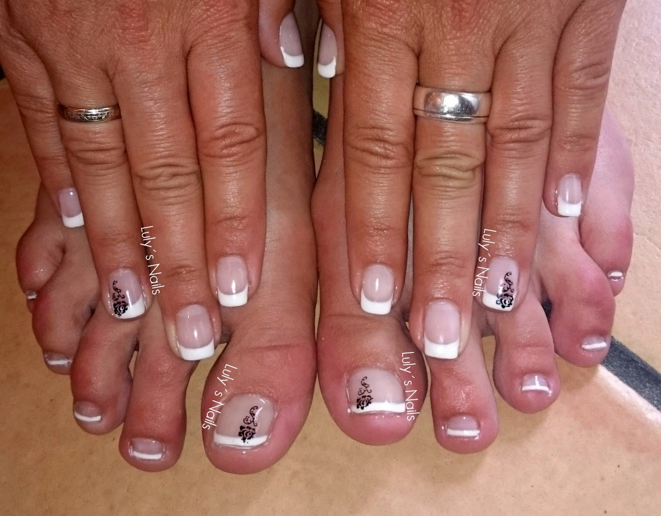 Uñas Semipermanentes Decoradas Luly 39s Nails Mayo 2015