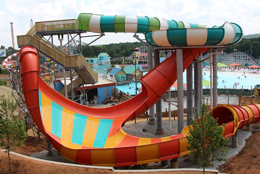 Hurricane Harbor Water Park 7