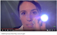 ASMR Eye Exam Role Play: Lots of Light!