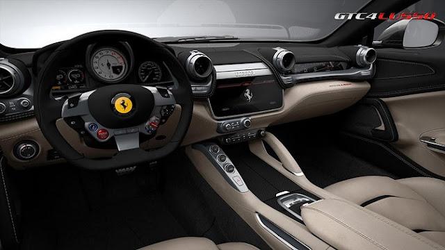Ferrari-GTC4Lusso interiors
