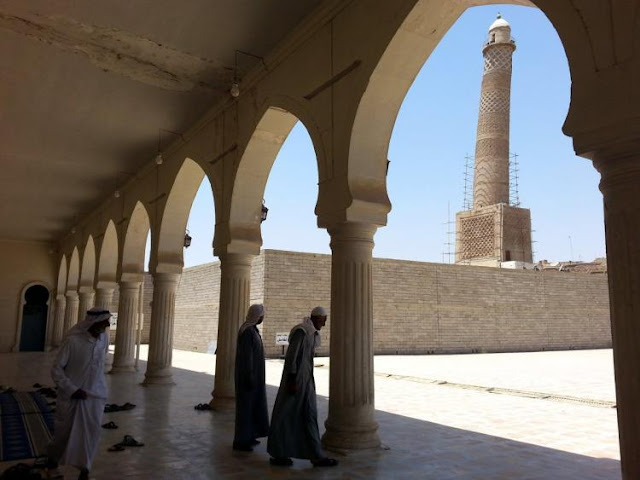 An ignoble end for Mosul's al-Nuri Mosque and Minaret