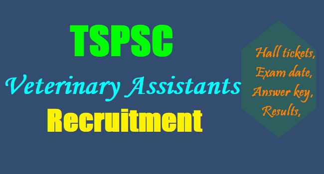 tspsc veterinary assistants recruitment selection list results 2018 ...