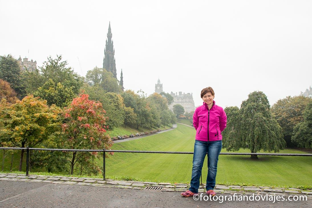 La new town y Dean Village en Edimburgo