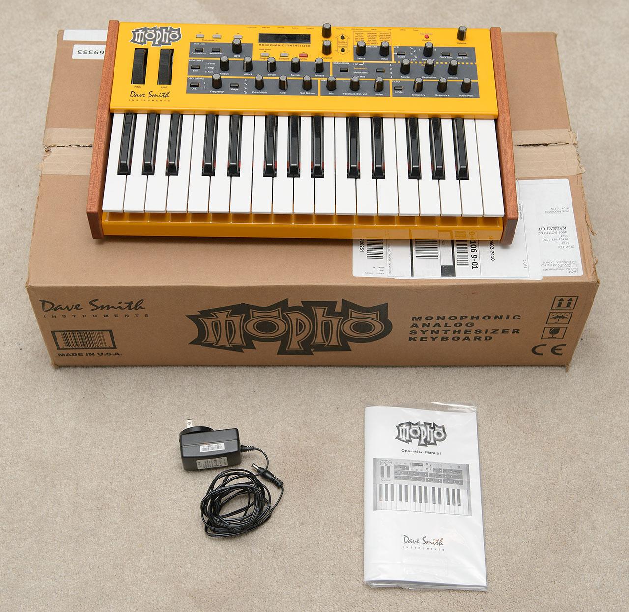 matrixsynth dave smith instruments mopho keyboard with original box rh matrixsynth com dsi tetra manual pdf dave smith mopho keyboard manual