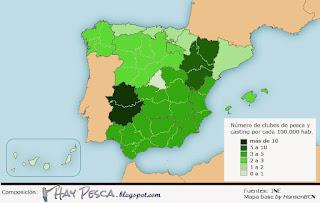 Clubes Pesca España