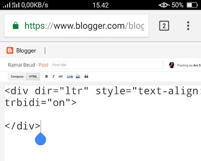 Cara menulis artikel di blog dengan template AMP