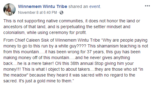 Sacred Lands of the Wintu Tribe