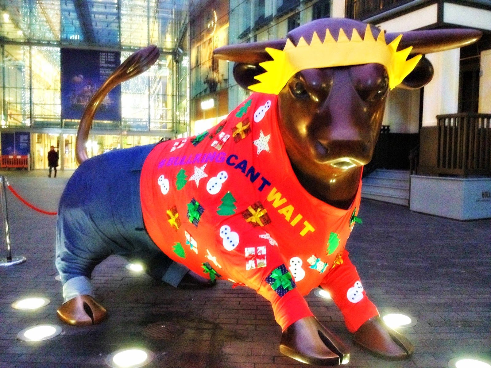 The Bull Birmingham Christmas jumper