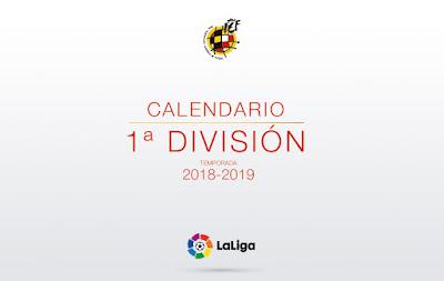 LA LIGA 2018-2019 calender