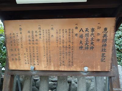 野田恵美須神社畧記