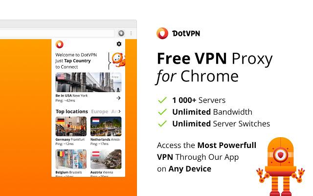 تحميل أفضل VPN مجاني للكروم بواسطة DotVPN