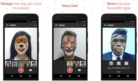 aplikasi membuat video lucu dan mengubah wajah