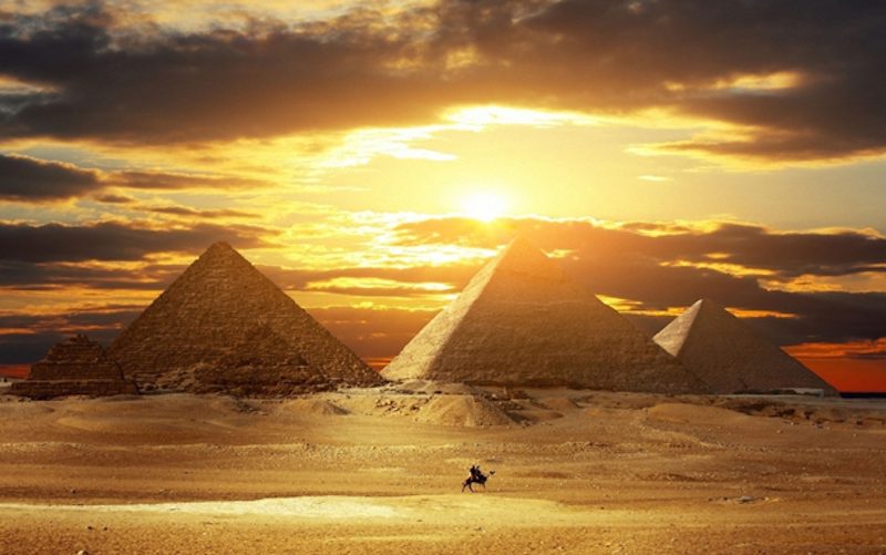 3. The Great Pyramids, Egypt - 20 of The Best Places To Watch The Sunset