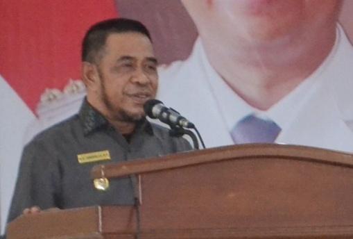 Wakil Bupati Buka Sosialisasi, Perbup No.94 Tahun 2017