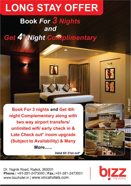 Book Long Stay Offer at Rajkot