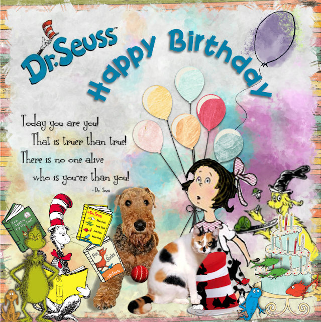 Happy Birthday Dr Strangelove In 2019: It's A Snap !: Happy Birthday Dr Seuss!!! March 1, 2019