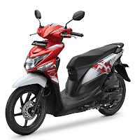 Honda BeAT POP eSP Merah putih