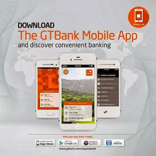 Download GTBank Mobile App for Android, Blackberry and Apple devices