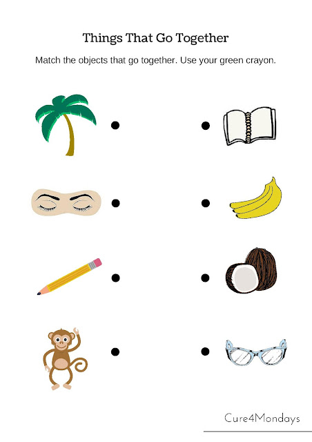 FREESCHOOL Free Printable Kindergarten Lessons - Cure for Mondays
