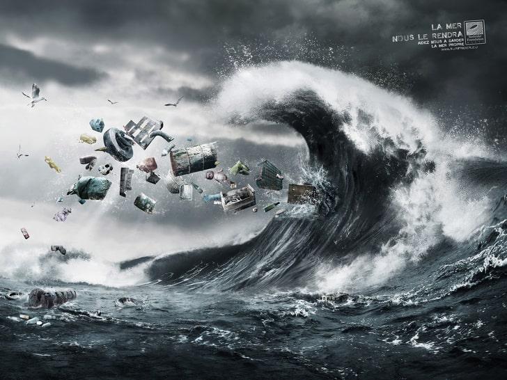 bencana sampah di lautan