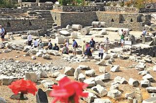 Kota Kuno Halicarnassus Destinasi Wisata Bodrum