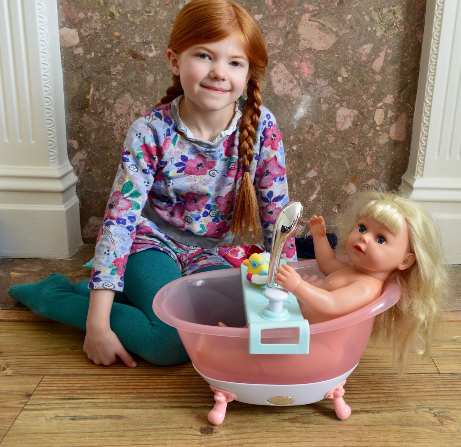BABY Born Interactive bathtub with foam - instructions and review