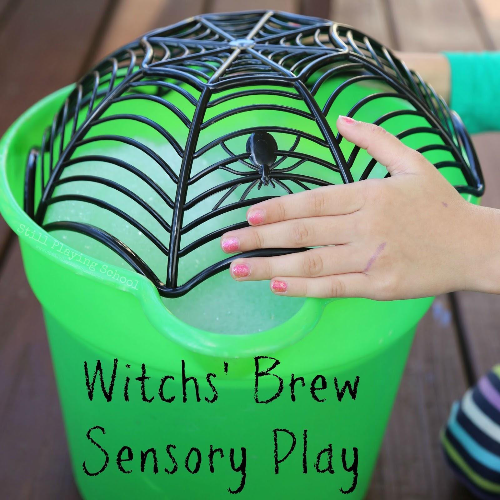 Witch Brew Sensory Play