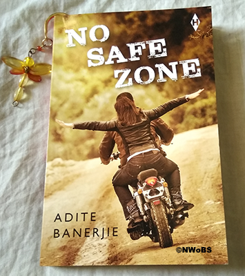 #BookReview: No Safe Zone by Adite Banerjie
