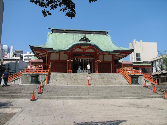 Edificio principal del Hanazono Jinga