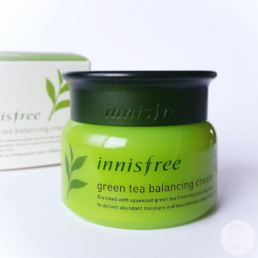 Review: Innisfree Green Tea Balancing Cream