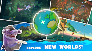 Hungry Shark World v2.1.8 Mod Apk (unlimited Coin) Terbaru