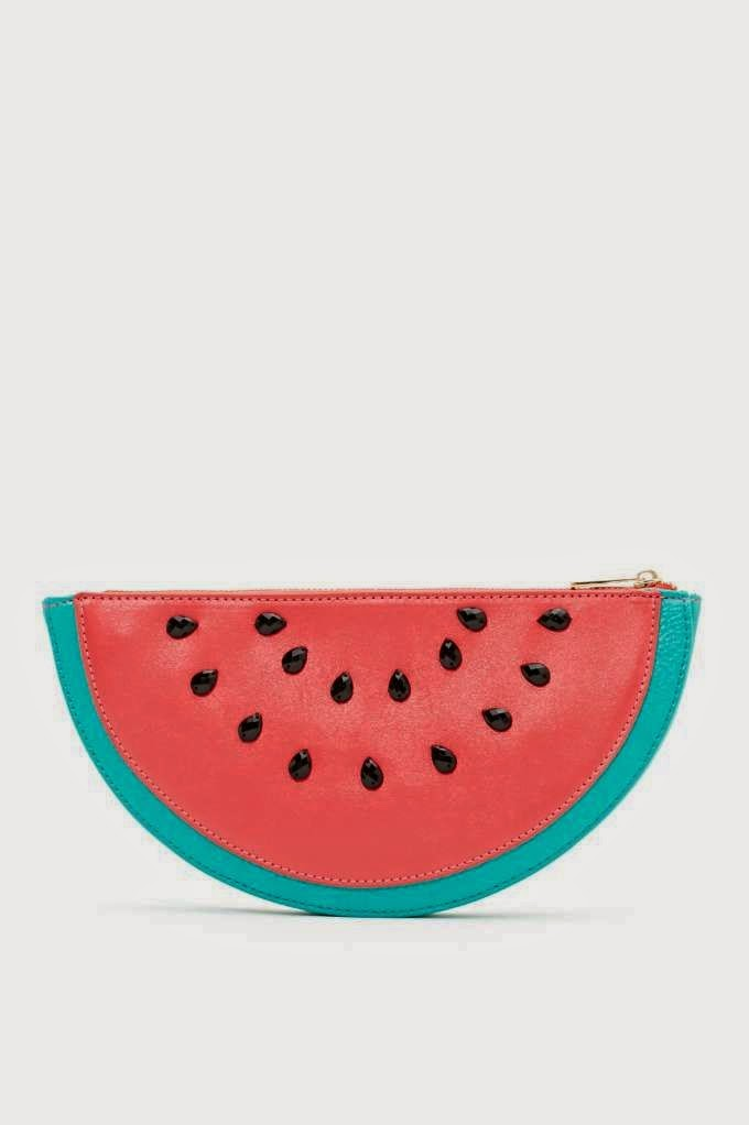Sweet Watermelon Clutch - She Wanders She Finds