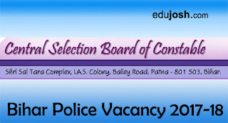 Bihar Police Constable Vacancy 2017