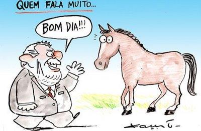 Lula, por sempre falar demais, está pagando o preço por ser tão boquirroto