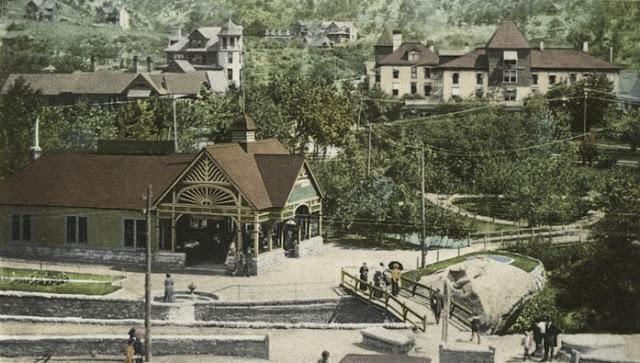 Soda Springs, Manitou, Colo