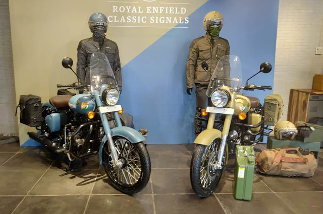 Royal Enfield Classic Signals 350 ABS, Royal enfield