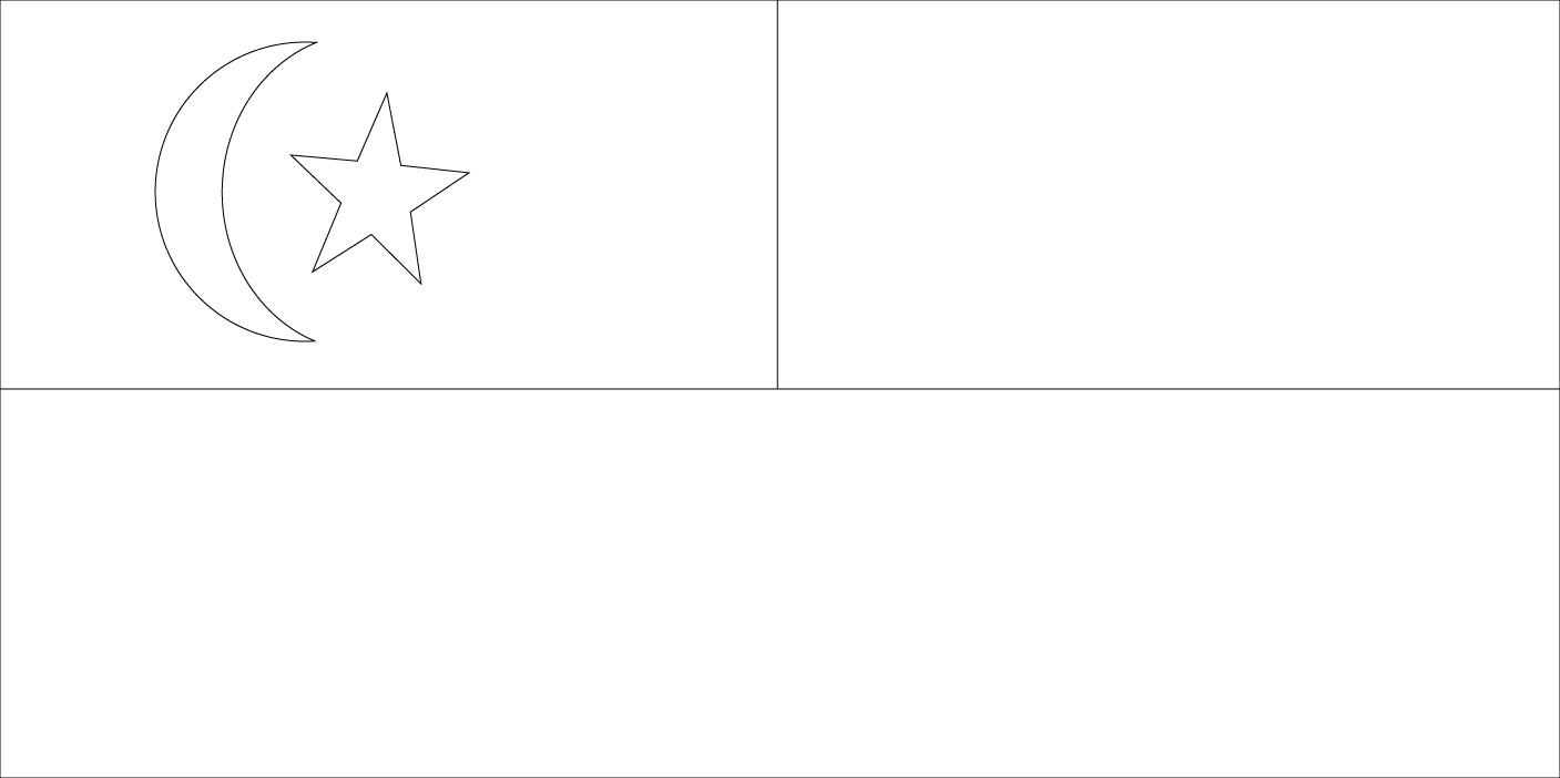 Gambar Mewarna Bendera Melaka