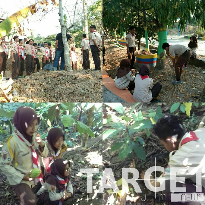 Menguak Kekayaan Alam Desa Plukaran Gembong Bersama Satuan Komunitas Pramuka Penegak Forum Wartawan Pati